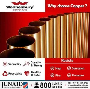 copper fittings suppliers uae